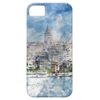 Cityscape with Galata Tower over the Golden Horn Case For The iPhone 5