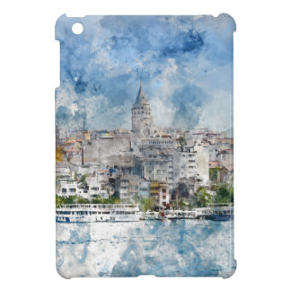 Cityscape with Galata Tower over the Golden Horn iPad Mini Cases