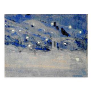 Ciurlionis - Sparks III Postcard