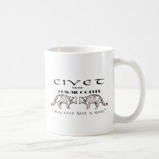 Civet Brand Luwak Coffee - Man that S*** is good! Coffee Mug