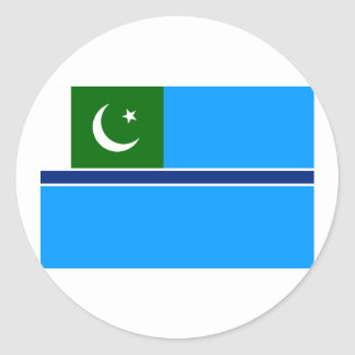 Civil Air Ensign Pakistan, Pakistan Classic Round Sticker