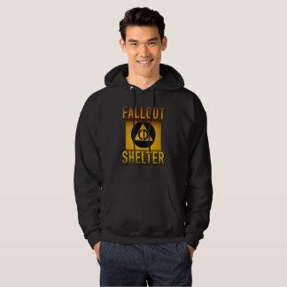 Civil Defense Fallout Shelter Atomic Age Grunge : Hoodie