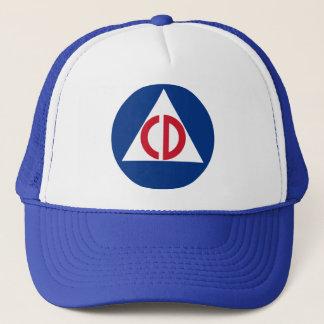 civil defense hat