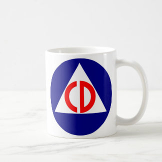 Civil Defense Logo Coffee Mug