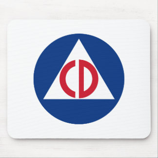 civil defense Mousepad