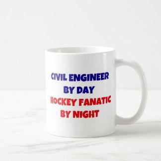 Civil Engineer by Day Hockey Fanatic by Night Coffee Mug