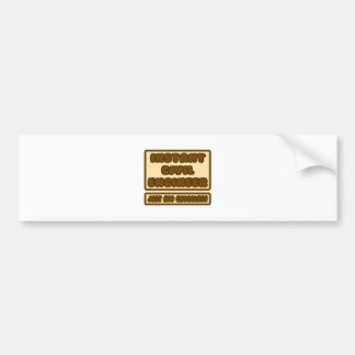 Civil Engineer ... Just Add Chocolate Bumper Sticker