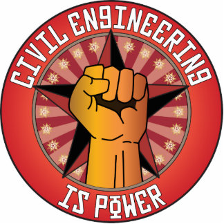 Civil Engineering Is Power Photo Cut Outs