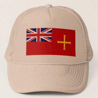 Civil Ensign Guernsey, United Kingdom Trucker Hat