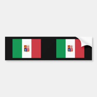 Civil Ensign Italy, Italy Bumper Sticker