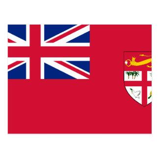 Civil Ensign Of Fiji, ethnic Post Cards