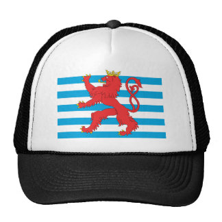 Civil Ensign Of Luxembourg, Lithuania flag Trucker Hat
