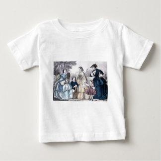 Civil War Antebellum Fashion Ladies Ball Gown Tshirt