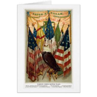 Civil War Battle Flags no.1 Card