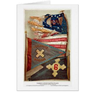 Civil War Battle Flags no.2 Card
