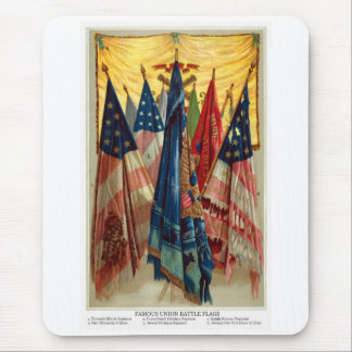 Civil War Battle Flags no.6 Mouse Pad