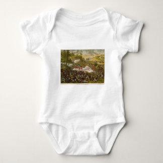 Civil War Battle of Chickamauga by Kurz & Allison Baby Bodysuit