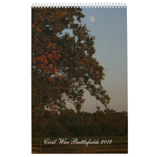 Civil War Battlefields 2012 Wall Calendar