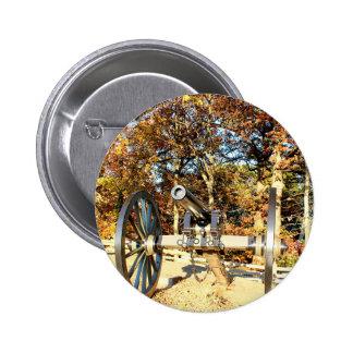 Civil War Cannon 2 Inch Round Button