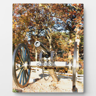 Civil War Cannon Display Plaques