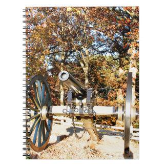 Civil War Cannon Note Books