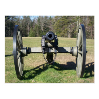 Civil War Cannon Postcard