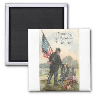 civil war cemetery magnet