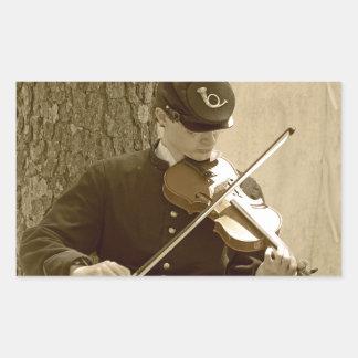 Civil War Fiddle Player