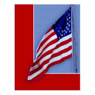 Civil War Flag Postcard