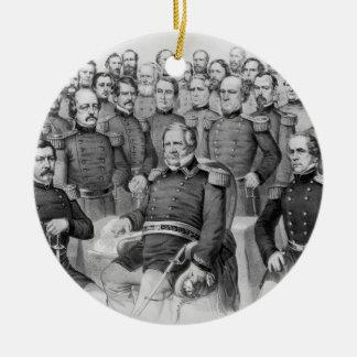Civil War Generals of the Union ornament