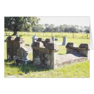 Civil War Graves Florida Card with envelope