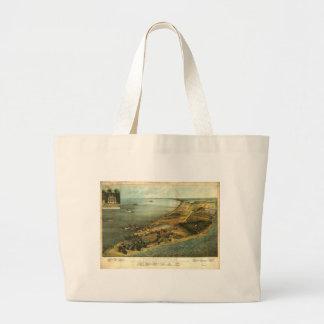 Civil War Hammond General Hospital and Prison 1864 Large Tote Bag