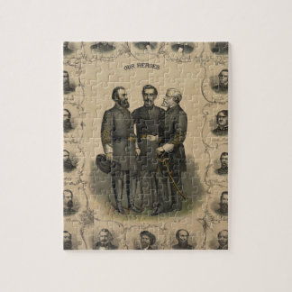 Civil War Heroes Jigsaw Puzzle