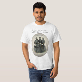 Civil War Heroes Southern Family Reunion T-Shirt