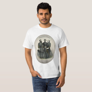 Civil War Heroes Stonewall Beauregard Lee T-Shirt