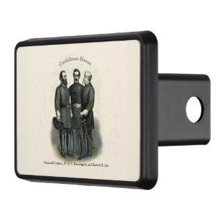 Civil War Heroes Stonewall Beauregard Lee USA Trailer Hitch Cover