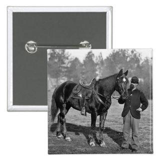 Civil War Horse 1864 Pinback Buttons