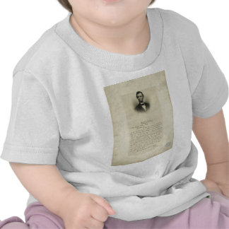 Civil War Letter from Abraham Lincoln to Mrs Bixby Tshirts