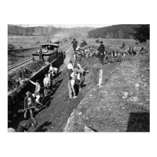 Civil War Railroad at Clifton, Virginia, 1863 Postcard