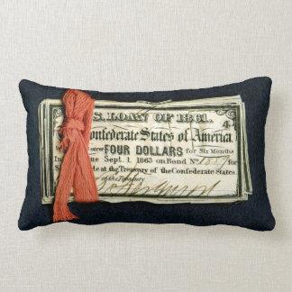 Civil War Red Tape Lumbar Pillow