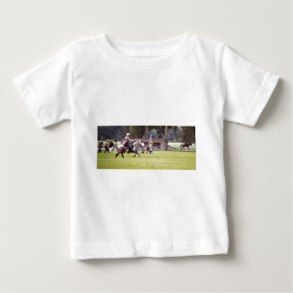 Civil War Reenactment Baby T-Shirt