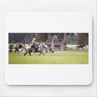 Civil War Reenactment Mouse Pad