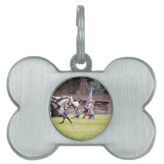 Civil War Reenactment Pet Name Tags