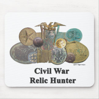 Civil War Relic Hunter Mouse Pad