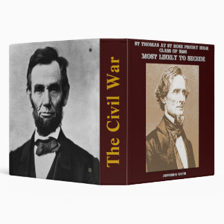 Civil War research binder