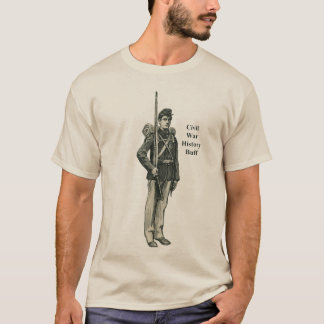 Civil War Soldier History Buff T-Shirt