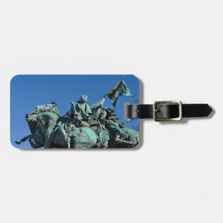 Civil War Soldier Statue in Washington DC_ Luggage Tag