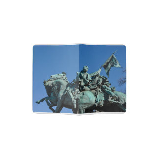 Civil War Soldier Statue in Washington DC_ Passport Holder