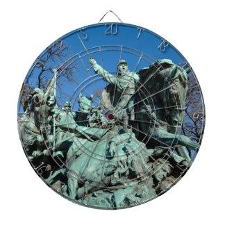 Civil War Statue in Washington DC Dartboard
