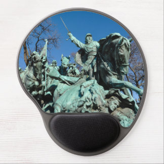 Civil War Statue in Washington DC Gel Mouse Pad
